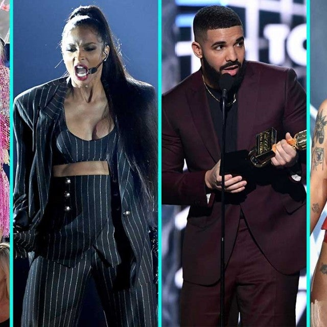 Taylor Swift, Ciara, Drake and Halsey at the 2019 Billboard Music Awards