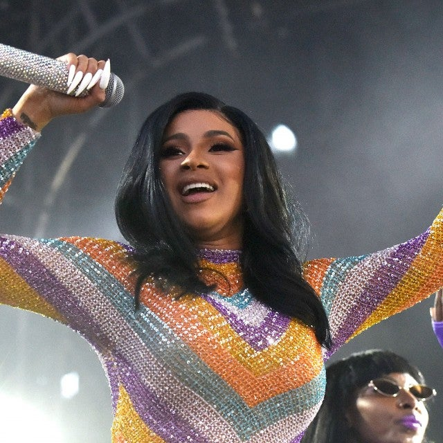 Cardi B performs during the 2019 Bonnaroo Music & Arts Festival