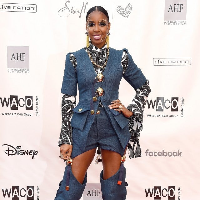 Kelly Rowland at WACO Theater Center's 3rd Annual Wearable Art Gala
