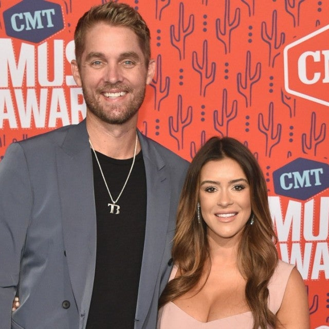 Brett Young and Taylor Mills 2019 CMT Music Awards