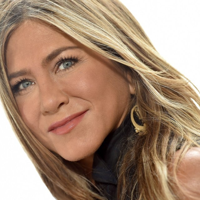 Jennifer Aniston at murder mystery photocall