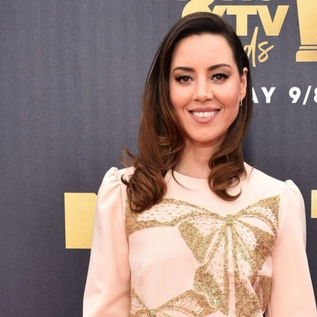 Aubrey Plaza at 2018 MTV Movie & TV Awards