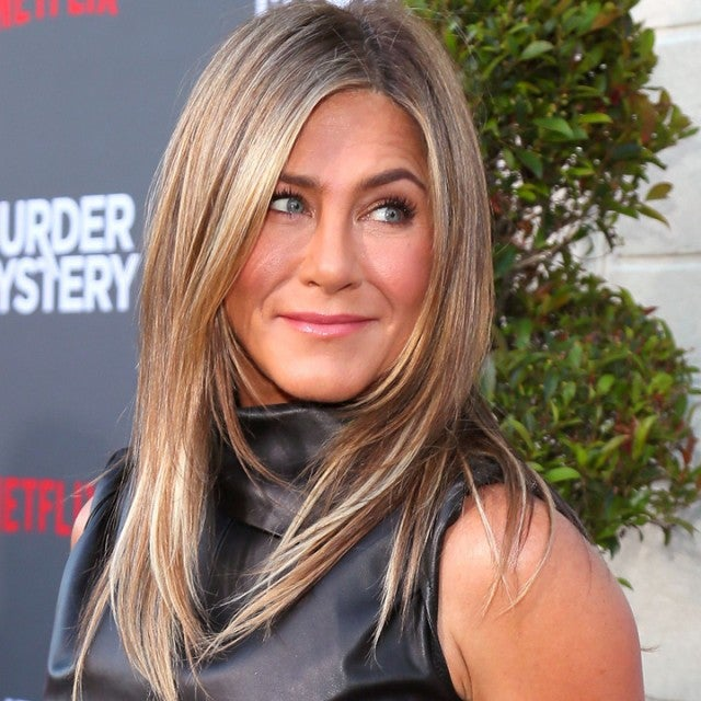 Jennifer Aniston at the premiere of 'Murder Mystery' in Los Angeles on June 10