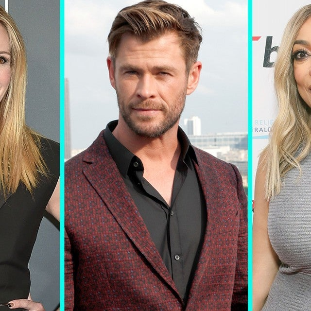 Julia Roberts, Chris Hemsworth and Wendy Williams