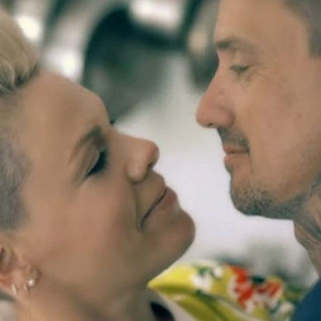 Carey Hart and Pink in '90 Days' Music Video