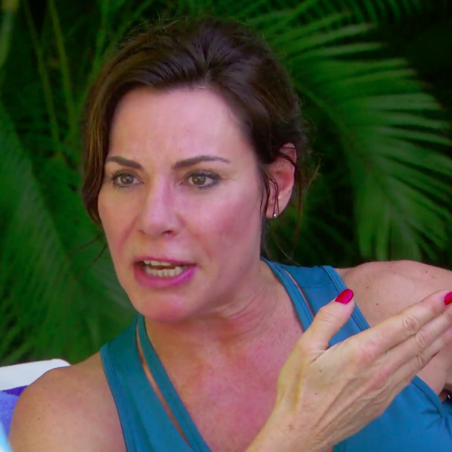 Luann de Lesseps on 'The Real Housewives of New York City.'