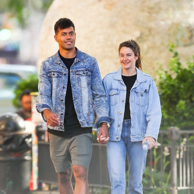 Ben Volavola and Shailene Woodley in nyc on june 10