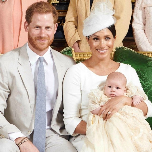Prince Harry Meghan Markle Archie Christening