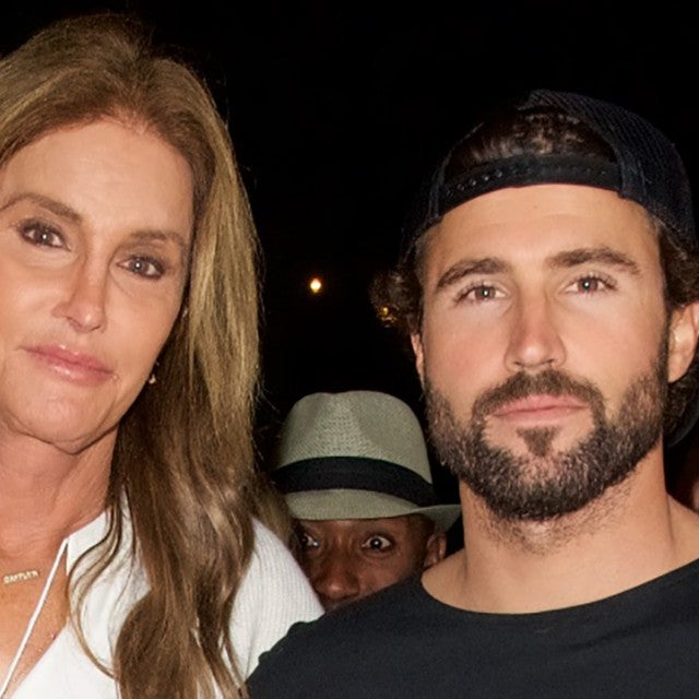"Caitlyn Jenner and Brody Jenner attend the Brandon Jenner Record Release Party For ""Burning Ground"" on November 19, 2016 in Malibu, California."