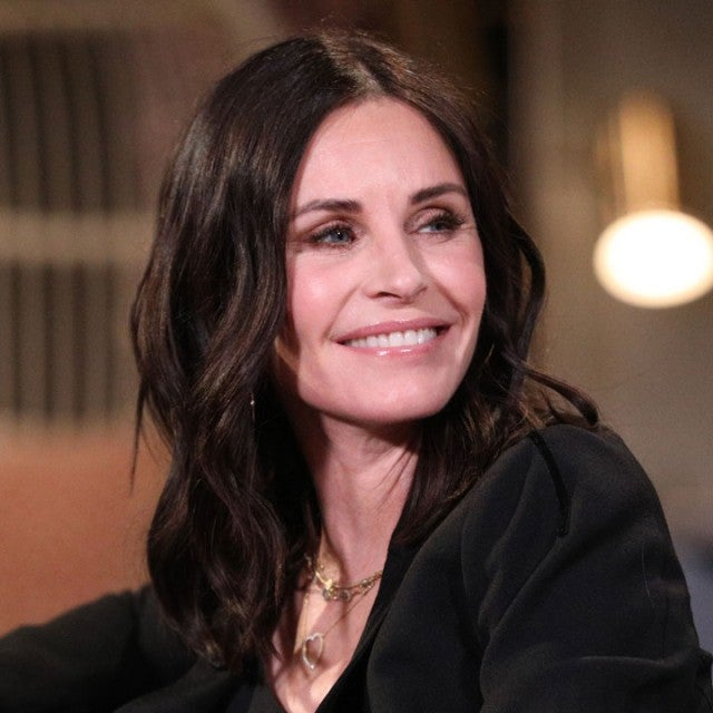 Courteney Cox on Busy Tonight