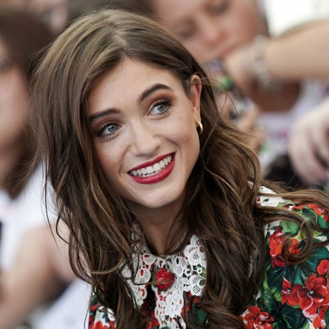 Natalia Dyer in Italy on july 21