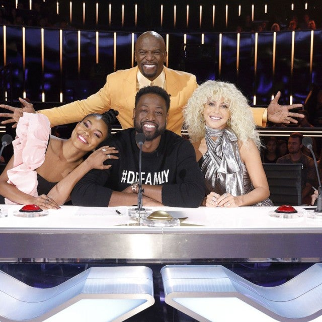 America's Got Talent Judges With special guest Dwyane Wade