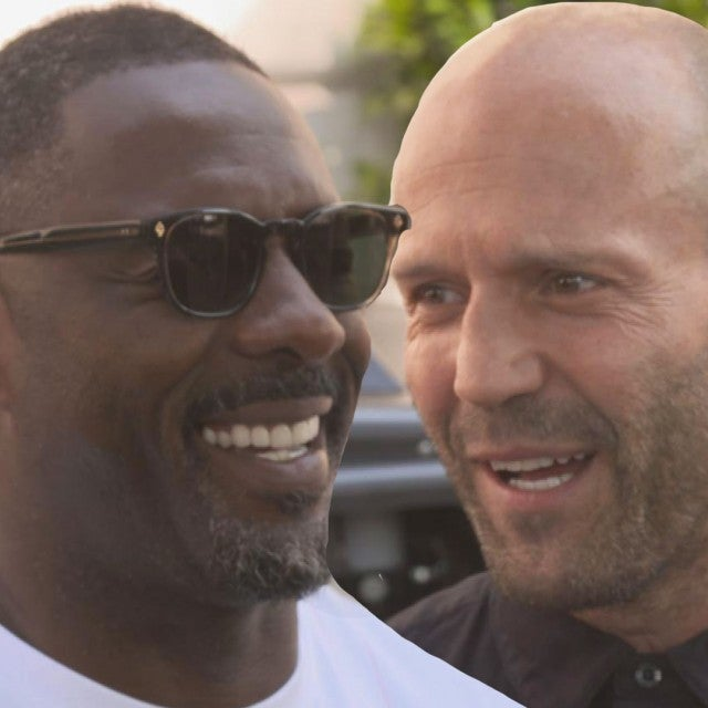 'Hobbs & Shaw' Stars Idris Elba and Jason Statham Spill Secrets From Set (Exclusive)