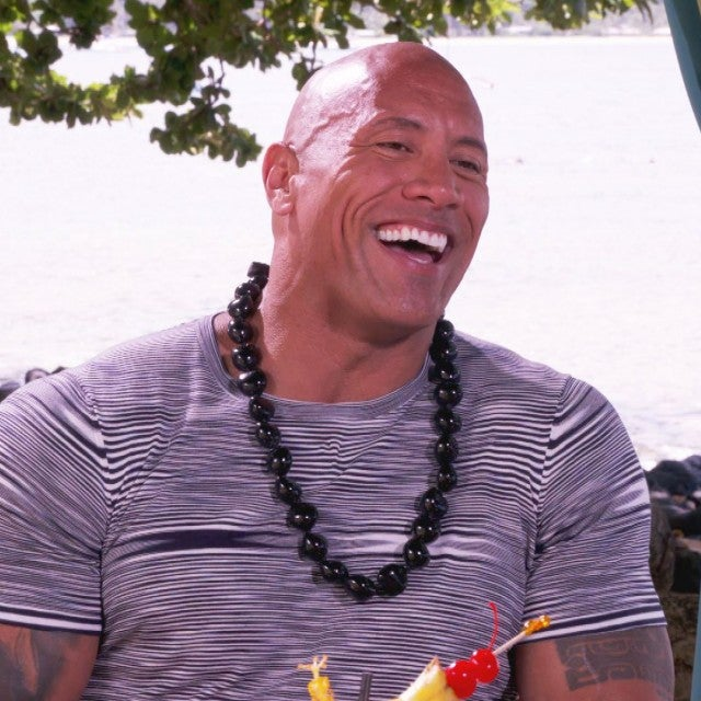 'Hobbs & Shaw' Star Dwayne Johnson Shows His Softer Side in Hawaii (Exclusive)