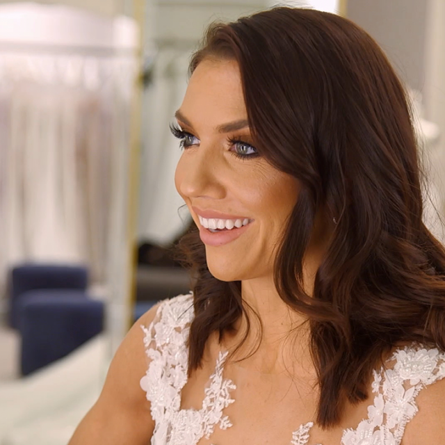 The 'Dancing With the Stars' pro goes shopping for her dream dress with her opinionated family! 'Say Yes to the Dress' is back with all-new episodes starting Saturday, July 20, at 9 p.m. ET on TLC.