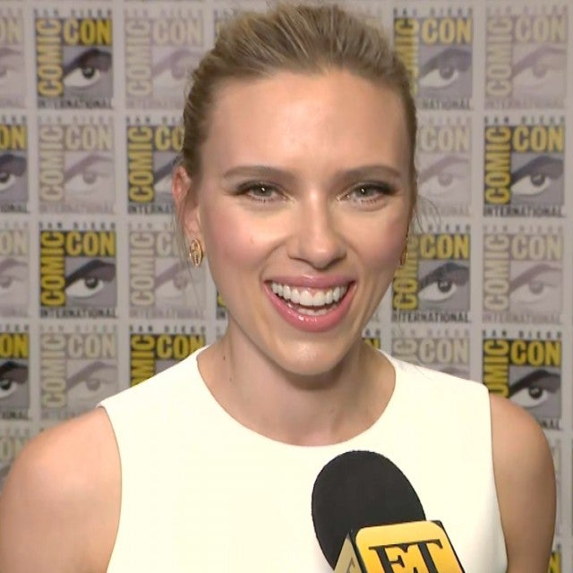 Scarlett Johansson Talks 'Black Widow' Solo Film | Comic-Con 2019