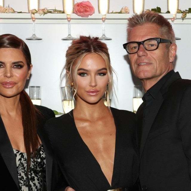 Lisa Rinna, Delilah Belle and Harry Hamlin