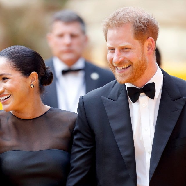 "Meghan, Duchess of Sussex and Prince Harry, Duke of Sussex attend ""The Lion King"" European Premiere"