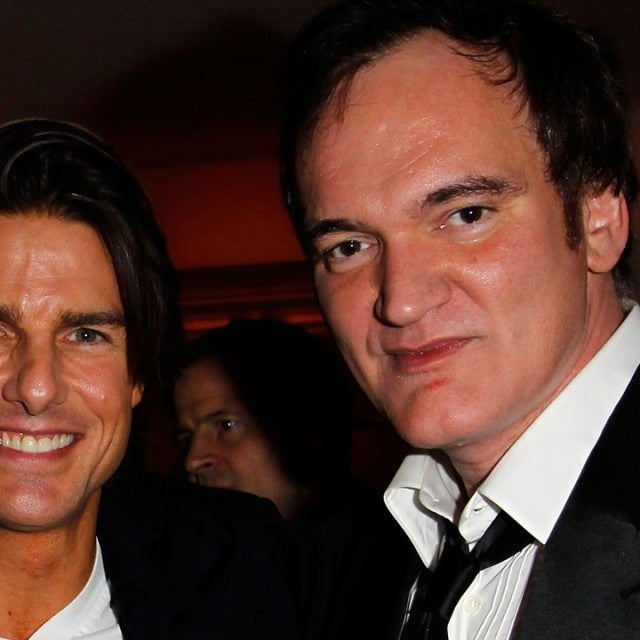 Quentin Tarantino and Tom Cruise