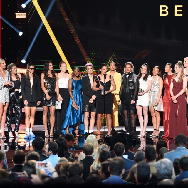 U.S. Women's Soccer Team wins Best Team Award at the 2019 ESPYs