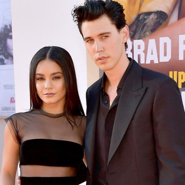 Vanessa Hudgens and Austin Butler at the premiere of 'Once Upon a Time in Hollywood'