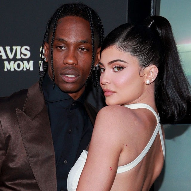 Travis Scott and Kylie Jenner at the premiere of Travis Scott: Look Mom I Can Fly