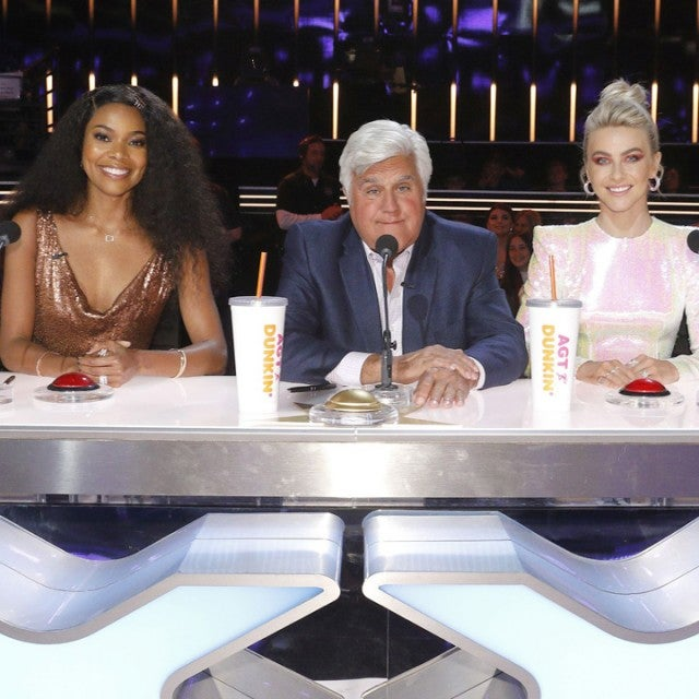 'America's Got Talent' Cast and Special Guest Judge Jay Leno