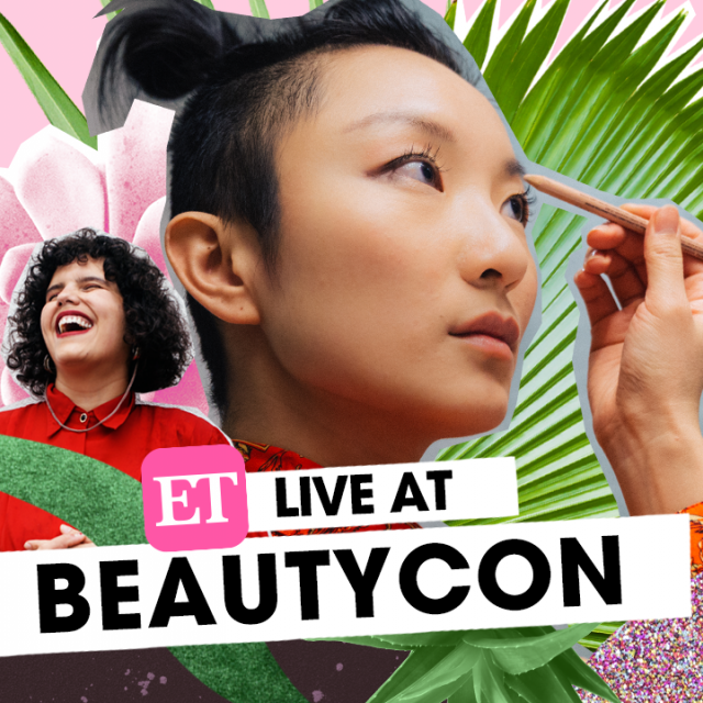 ET Live coverage at Beautycon LA 2019