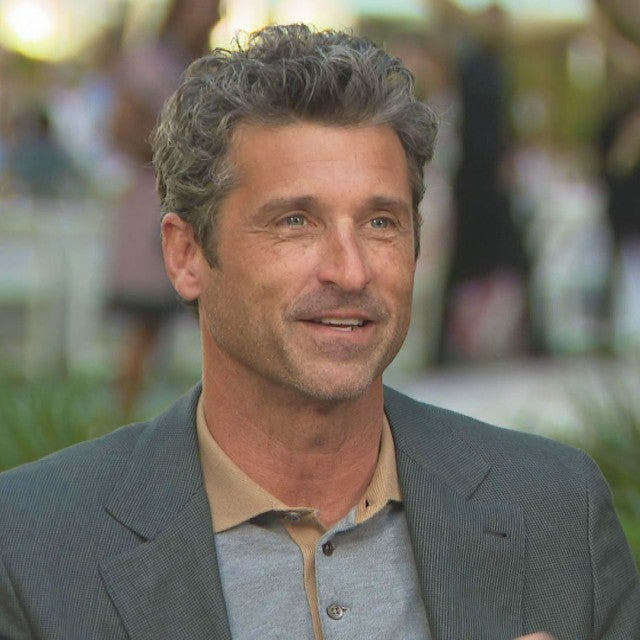 Watch Patrick Dempsey React to His First ET Interview