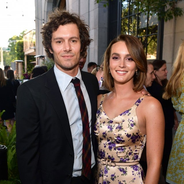 Adam Brody and Leighton Meester at ready or not screening