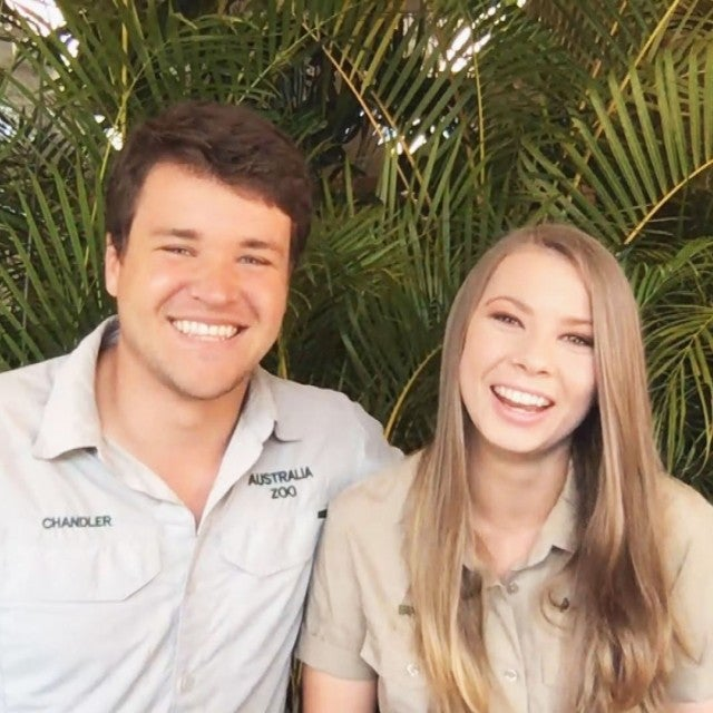 Bindi Irwin and Chandler Powell Dish Engagement Details (Full Interview)