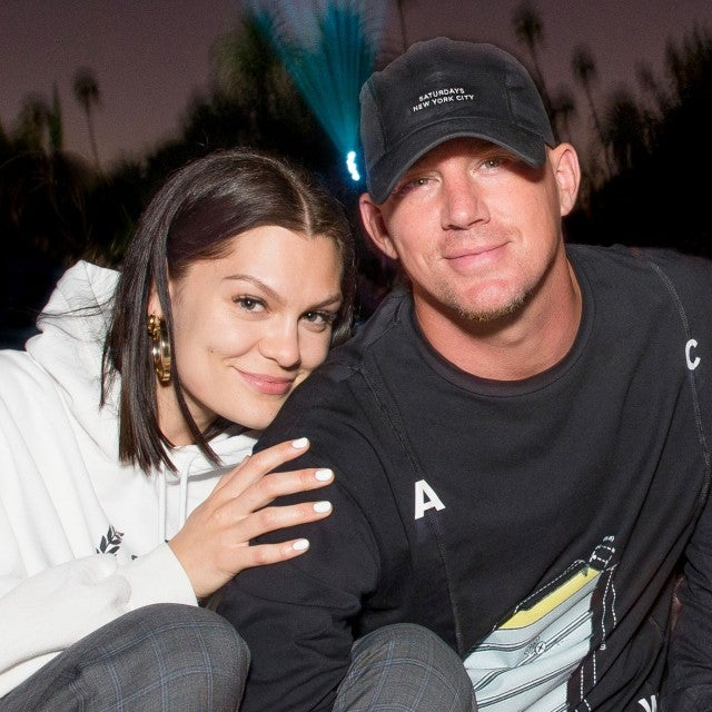 channing tatum and jessie j at cinespia