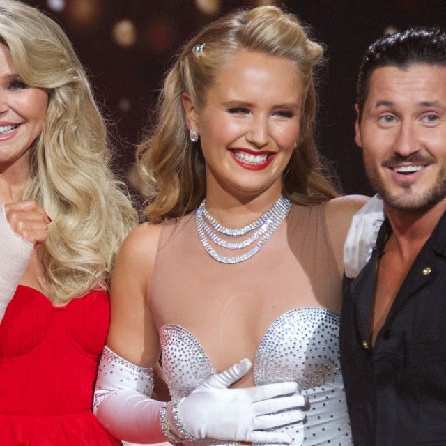 Christie Brinkley, Sailor Brinkley-Cook and Val Chmerkovskiy on 'DWTS'
