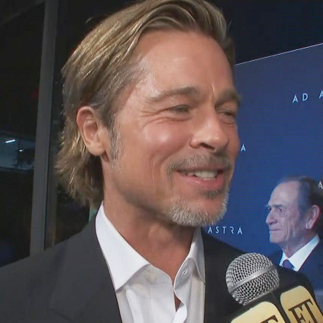 Brad Pitt on George Clooney's Space Movie Performance Ahead of 'Ad Astra' Premiere (Exclusive)