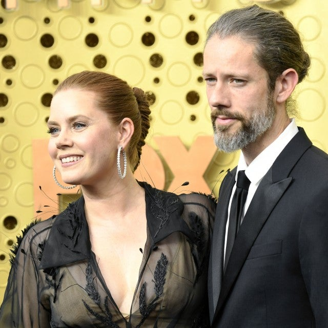 amy adams and husband at 2019 emmys
