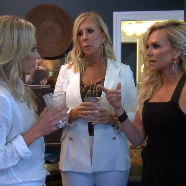 Braunwyn Windham-Burke, Vicki Gunvalson and Tamra Judge of Bravo's 'The Real Housewives of Orange County.'
