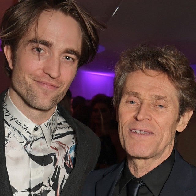 Robert Pattinson, Willem Dafoe