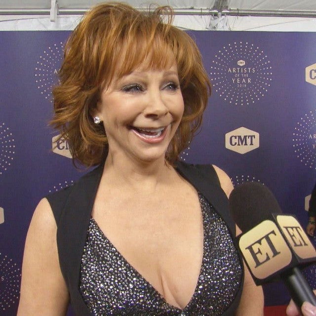 Reba McEntire Moved to Tears While Accepting CMT Lifetime Honoree Award