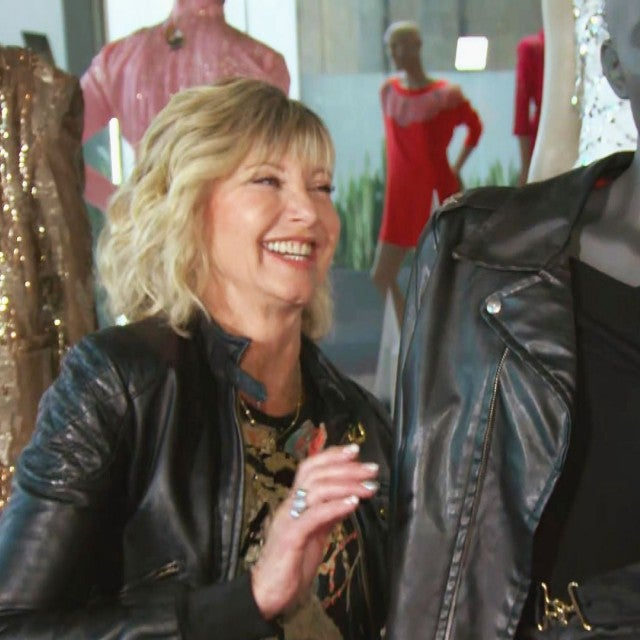 Olivia Newton-John Reveals Secrets About Her Iconic 'Grease' Outfits (Exclusive)