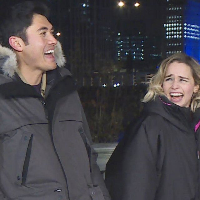 Behind the Scenes of 'Last Christmas' With Emilia Clarke and Henry Golding