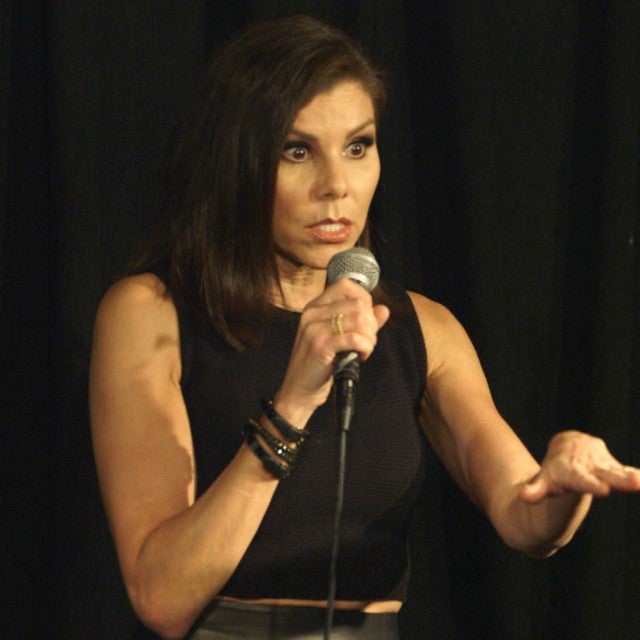 Watch Heather Dubrow Poke Major Fun at Herself During Surprise Stand-Up Gig (Exclusive)