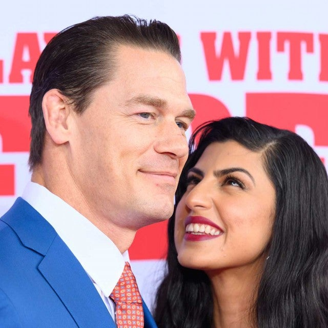 ET spoke with Cena on the red carpet