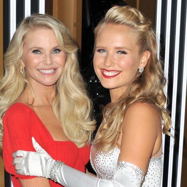 Christie Brinkley and Sailor Brinkley Cook DWTS