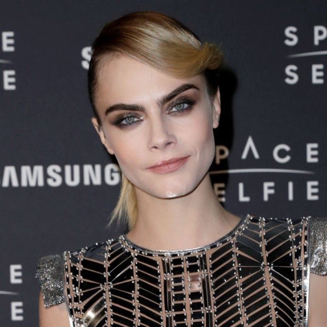 Cara Delevingne at the SpaceSelfie photocall in london