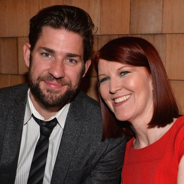 Kate Flannery and John Krasinski