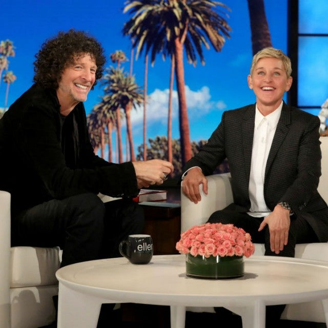 Howard Stern and Ellen DeGeneres