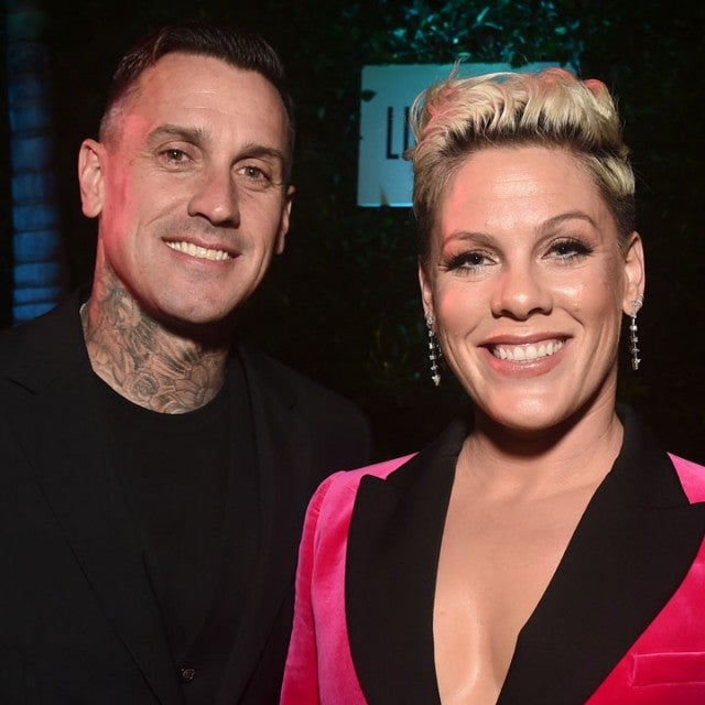 Carey Hart and Pink at Billboard's 2019 Live Music Summit and Awards Ceremony