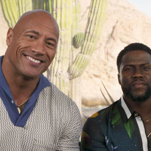 Kevin Hart Reunites With Dwayne Johnson in Cabo to Talk 'Jumanji' Sequel (Exclusive)