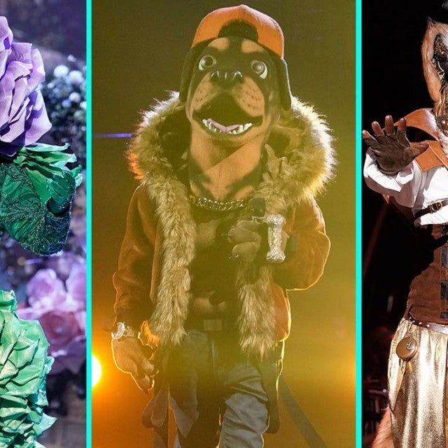 The Flower, The Rottweiler and The Fox from 'The Masked Singer'