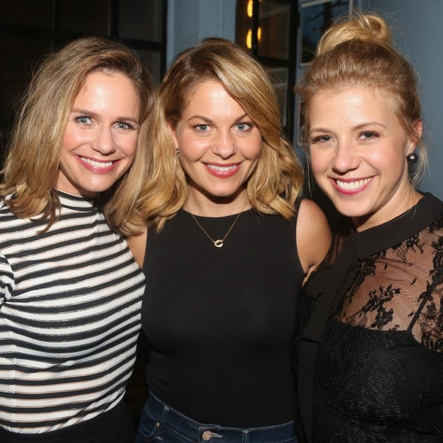 Andrea Barber, Candace Cameron Bure and Jodie Sweetin